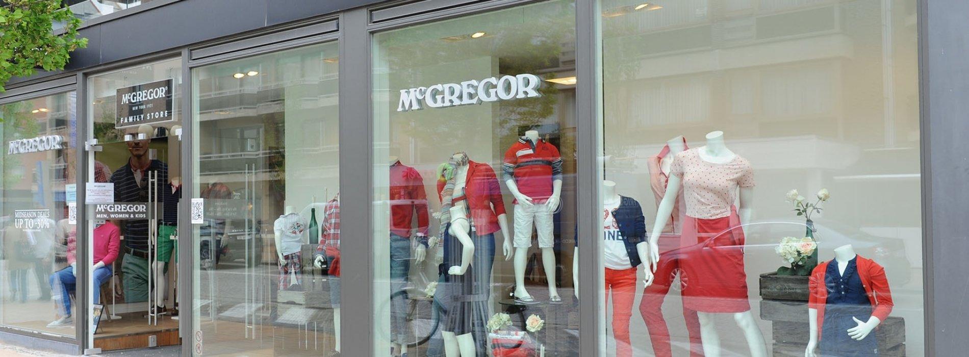 Mcgregor Shop - Mode - Winkelen - Visit Nieuwpoort